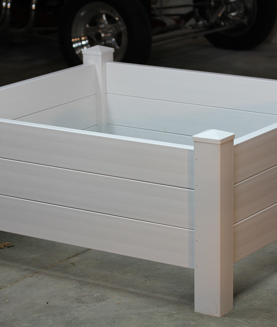 4' x 4' Three Level Planter Bed / Sand Box