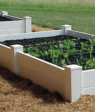 4' x 4' Two Level Planter Bed / Sand Box